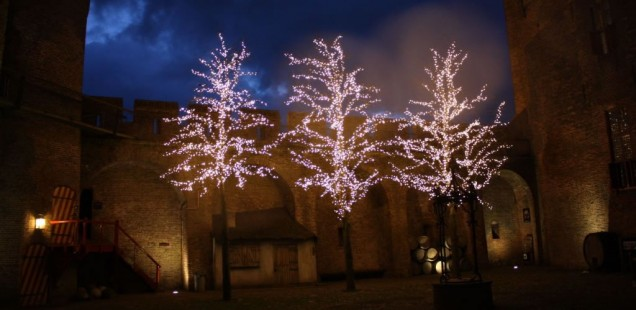 Winterfeest in het Muiderslot tijdens de Kerstvakantie