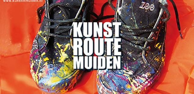 Kunstroute in Muiden op zaterdag 5 en zondag 6 oktober