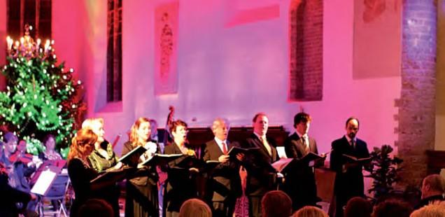 Proefkamermuziek in de Grote Kerk van Muiden