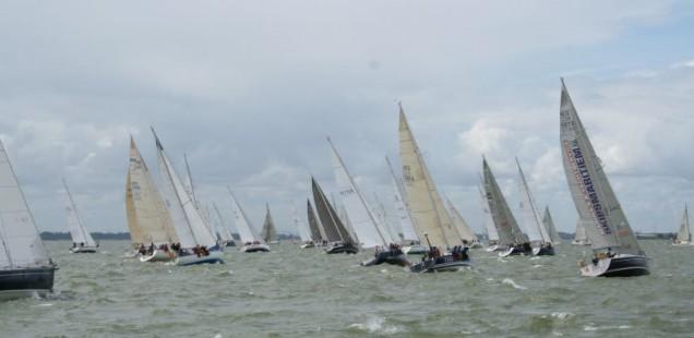 Zeiltocht Ronde om Noord-Holland groot succes